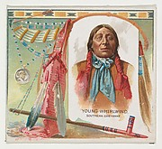 Young Whirlwind, Southern Cheyenne, from the American Indian Chiefs series (N36) for Allen & Ginter Cigarettes