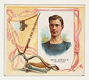 W.E. Crist, Tricyclist, from World's Champions, Second Series (N43) for Allen & Ginter Cigarettes