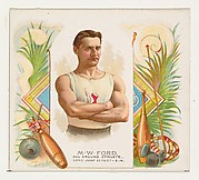 M.W. Ford, All Around Athlete, from World's Champions, Second Series (N43) for Allen & Ginter Cigarettes