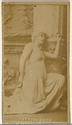 Isabelle Coe, from the Actors and Actresses series (N145-8) issued by Duke Sons & Co. to promote Duke Cigarettes