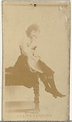 Lillian Kennedy, from the Actors and Actresses series (N145-8) issued by Duke Sons & Co. to promote Duke Cigarettes