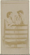 Lynch Sisters, from the Actors and Actresses series (N145-8) issued by Duke Sons & Co. to promote Duke Cigarettes