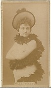 Mlle. Velly, from the Actors and Actresses series (N145-8) issued by Duke Sons & Co. to promote Duke Cigarettes