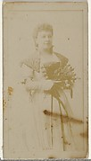 Miss Albani, from the Actors and Actresses series (N145-8) issued by Duke Sons & Co. to promote Duke Cigarettes