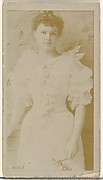 Miss Beesly, from the Actors and Actresses series (N145-8) issued by Duke Sons & Co. to promote Duke Cigarettes