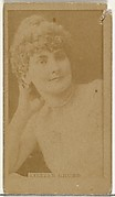 Lillian Grubb, from the Actors and Actresses series (N145-8) issued by Duke Sons & Co. to promote Duke Cigarettes