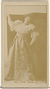 Mrs. Stuart Robson, from the Actors and Actresses series (N145-8) issued by Duke Sons & Co. to promote Duke Cigarettes