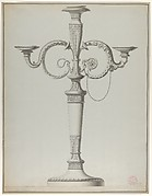 Candelabrum with Alternative Designs for the Arms
