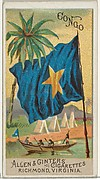 Congo, from Flags of All Nations, Series 2 (N10) for Allen & Ginter Cigarettes Brands