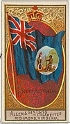 South Australia, from Flags of All Nations, Series 2 (N10) for Allen & Ginter Cigarettes Brands
