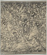 Ornamental Engraving with the Tree of Jesse