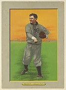 "Mordecai ""Three Finger"" Brown, Pitcher, Chicago Cubs (National League), from Turkey Red Cabinets (T3)"
