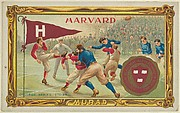Harvard, version two, part of the College Series cabinet cards (T6)