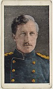 Card No. 15, King Albert of Belgium, from the World War I Scenes series (T121) issued by Sweet Caporal Cigarettes