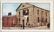 Card No. 250, Baptist Church at Hartlepool Wrecked by German Bombardment, from the World War I Scenes series (T121) issued by Sweet Caporal Cigarettes