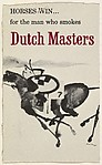 Horses Win...for the man who smokes Dutch Masters, from the Comic Sketches series (T133) to promote Dutch Masters Cigars