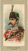 Bodyguard, Austria-Hungary, from the Military Uniforms series (T182) issued by Abdul Cigarettes