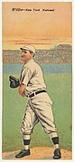 Willse, New York, National League, from the Mecca Double Folder series (T201)