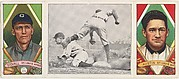 """""""Ty Cobb Steals Third,"""" with James Austin and George T. Stovall, from the series Hassan Triple Folders (T202)"""