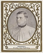 Crandall, Pitcher, New York, National League, from the Baseball Players (Ramlys) series (T204) issued by the Mentor Company to promote Ramly and T.T.T. Turkish Cigarettes