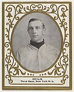 Devlin, 3rd Base, New York, National League, from the Baseball Players (Ramlys) series (T204) issued by the Mentor Company to promote Ramly and T.T.T. Turkish Cigarettes