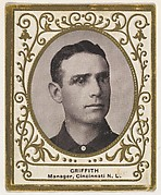 Griffith, Manager, Cincinnati, National League, from the Baseball Players (Ramlys) series (T204) issued by the Mentor Company to promote Ramly and T.T.T. Turkish Cigarettes
