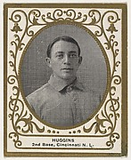 Huggins, 2nd Base, Cincinnati, National League, from the Baseball Players (Ramlys) series (T204) issued by the Mentor Company to promote Ramly and T.T.T. Turkish Cigarettes