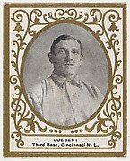 Loebert, 3rd Base, Cincinnati, National League, from the Baseball Players (Ramlys) series (T204) issued by the Mentor Company to promote Ramly and T.T.T. Turkish Cigarettes