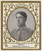 Powell, Pitcher, St. Louis, American League, from the Baseball Players (Ramlys) series (T204) issued by the Mentor Company to promote Ramly and T.T.T. Turkish Cigarettes