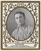 Schekard, Left Field, Chicago, National League, from the Baseball Players (Ramlys) series (T204) issued by the Mentor Company to promote Ramly and T.T.T. Turkish Cigarettes