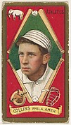"Edward T. Collins, Philadelphia, American League, from the ""Baseball Series"" (Gold Borders) set (T205) issued by the American Tobacco Company"