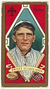 """William Bailey, St. Louis, American League, from the """"Baseball Series"""" (Gold Borders) set (T205) issued by the American Tobacco Company"""