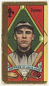 "Daniel Hoffman, St. Louis Browns, American League, from the ""Baseball Series"" (Gold Borders) set (T205) issued by the American Tobacco Company"