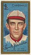 "Frank Corridon, St. Louis Cardinals, National League, from the ""Baseball Series"" (Gold Borders) set (T205) issued by the American Tobacco Company"