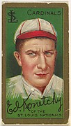 "Ed Konetchy, St. Louis Cardinals, National League, from the ""Baseball Series"" (Gold Borders) set (T205) issued by the American Tobacco Company"