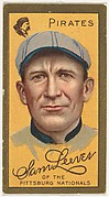 "Sam Leever, Pittsburgh Pirates, National League, from the ""Baseball Series"" (Gold Borders) set (T205) issued by the American Tobacco Company"