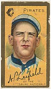 "Albert Leifield, Pittsburgh Pirates, National League, from the ""Baseball Series"" (Gold Borders) set (T205) issued by the American Tobacco Company"