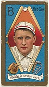"Edward Karger, Boston Red Sox, American League, from the ""Baseball Series"" (Gold Borders) set (T205) issued by the American Tobacco Company"
