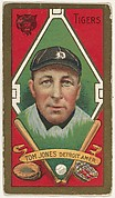 "Tom Jones, Detroit Tigers, American League, from the ""Baseball Series"" (Gold Borders) set (T205) issued by the American Tobacco Company"