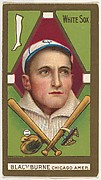 "Blackburne, Chicago White Sox, American League, from the ""Baseball Series"" (Gold Borders) set (T205) issued by the American Tobacco Company"