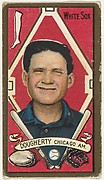 """Dougherty, Chicago White Sox, American League, from the """"Baseball Series"""" (Gold Borders) set (T205) issued by the American Tobacco Company"""