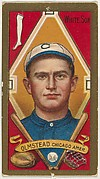 "Olmstead, Chicago White Sox, American League, from the ""Baseball Series"" (Gold Borders) set (T205) issued by the American Tobacco Company"