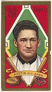 """James Austin, New York Yankees, American League, from the """"Baseball Series"""" (Gold Borders) set (T205) issued by the American Tobacco Company"""