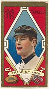 """Harold W. Chase, New York Yankees, American League, from the """"Baseball Series"""" (Gold Borders) set (T205) issued by the American Tobacco Company"""