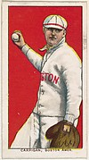 Carrigan, Boston, American League, from the White Border series (T206) for the American Tobacco Company
