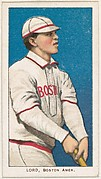 Lord, Boston, American League, from the White Border series (T206) for the American Tobacco Company