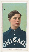 Walsh, Chicago, American League, from the White Border series (T206) for the American Tobacco Company