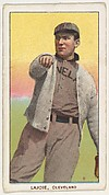 Lajoie, Cleveland, from the White Border series (T206) for the American Tobacco Company