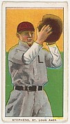 Stephens, St. Louis, American League, from the White Border series (T206) for the American Tobacco Company