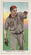 Waddell, St. Louis, American League, from the White Border series (T206) for the American Tobacco Company